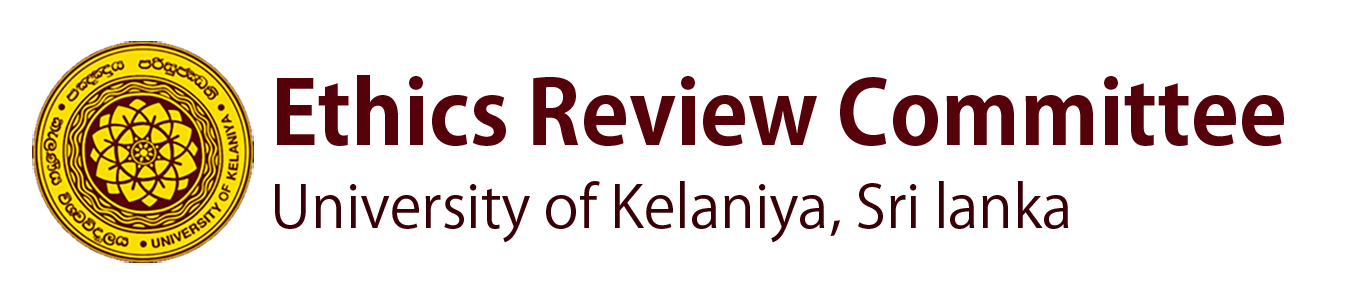 Ethics Review Committee (ERC) University of Kelaniya